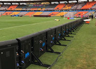 P10 Stadium LED Screens Advertising Boards High Consistency Heat Dissipation
