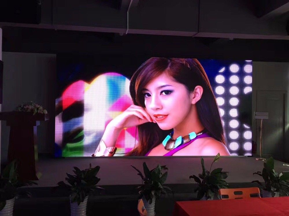 Full HD Indoor Led Screen Rental 400*300 P1.25 Die Casting Aluminum Intelligent Control